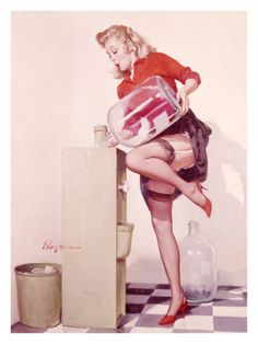 Vintage Pin Up Posters and Pin-Up Girls Pictures, Images, Photos