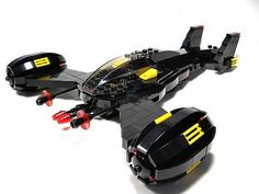 The Black Star ( Blacktron Fighter ): A LEGO® creation by Peter deYeule : MOCpages.com