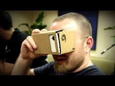 $15 DIY Virtual Reality Headset! - YouTube