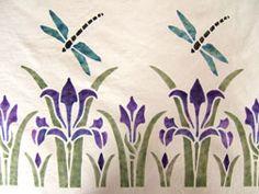 art nouveau floral prints - Buscar con Google