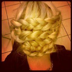 I love braiding my hair