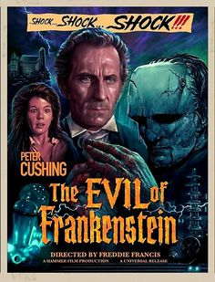 Hammer Movie, Hammer Horror Films, Hammer Films, Film Poster Design, Movie Poster Art, Classic Horror Movies, Classic Films, Old Hollywood Movies, Horror Movie Posters