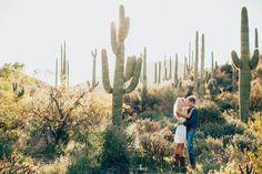 arizona desert // I wish I lived in Arizona these engagement pictures are gorgeous