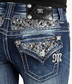 Miss Me Mesh Boot Stretch Jean #buckle #fashion #jeans www.buckle.com