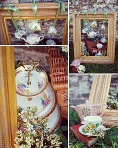 Photography - Annamarie Stepney  Styling, China, Props & Flowers by Amelia Barnes at Vintage Floral Teas