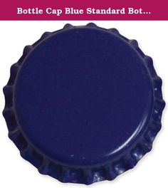 Bottle Cap Blue Standard Bottle Caps, 12 Per Package. Bottle cap inc. Bottle caps have been manufactured specifically for use in craft and jewelry products. There is no writing or insignia on any of our bottle caps. We leave off the rubber liner typically found inside of all bottle caps. Our bottle caps are manufactured from tin plated steel, then painted and sealed with a food grade lacquer coating. Bottle cap inc. Bottle caps meet the new, 2012 cpsc standards for lead and cadmium…
