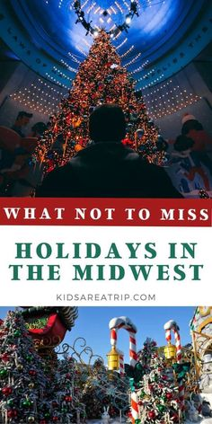 Holiday celebrations in the US will look different this year, but there are still plenty of events to put you in a festive mood. These holiday events in the Midwest are perfect for all ages. - Kids Are A Trip |Midwest vacations| Midwest travel| holiday travel| holiday travel destinations