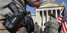 Partidarios de armas de fuego buscan avances bajo Trump...