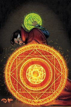Doctor Strange by David Ocampo