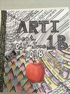 10/04/2017 Sketchbook Cover Day 4