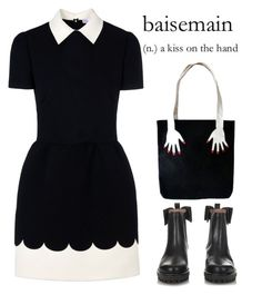 """""""Beside main"""" by juliehalloran ❤ liked on Polyvore featuring RED Valentino"""