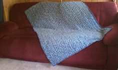 Ravelry: Project Gallery for Ocean Tranquility Afghan pattern by Anastacia Zittel