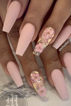 Frensh Nails, Bling Acrylic Nails, Acrylic Nails Coffin Short, Summer Acrylic Nails, Best Acrylic Nails, Dope Nails, Swag Nails, Coffin Nails, Pink Tip Nails