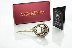 Hand of the King Bottle Opener Merchandise Gift – Cool Fan Game Item In Red Lannister Gift Box – Letter & Beer Opener to Loyally Serve The Throne – Perfect Present For Men & Fans Game Of Thrones Gifts, Game Of Thrones Fans, Presents For Men, Gifts For Him, Hand Des Königs, Viking Horn, Hand Of The King, Ragnar Lothbrok, Beer Bottle Opener