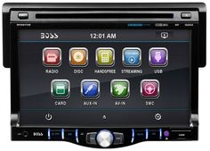 "Boss BV8970B 7"" Touchscreen Monitor Bluetooth Audio Streaming DVD/MP3  #BossAudioSystems"