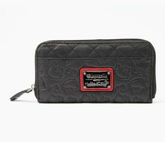 Hello Kitty Embossed Long Wallet: Composite