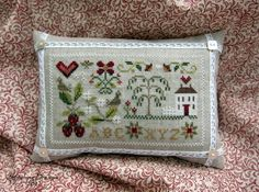 Little House Needleworks - made into a lovely pillow. Looks delicious! http://3.bp.blogspot.com/-v-MLcjydrLo/T84fzxKrNVI/AAAAAAAAC7s/-cemQJuUGtY/s1600/IMG_3128-003.JPG