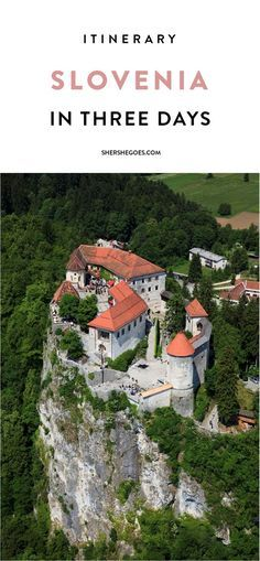 A comprehensive travel guide and itinerary to Ljubljana, Slovenia