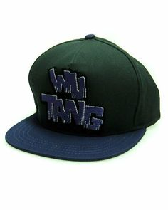Wutang Brand LTD Incredible Wu Snapback - Men s ( Green ) by Wutang Brand  LTD.  37.00 492e53347d83
