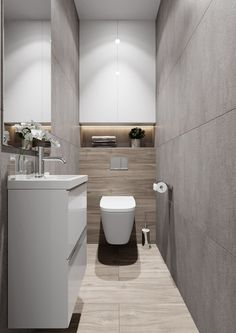 Modern bathroom design 529524868689540605 - Source by Small Toilet Design, Small Toilet Room, Bathroom Design Luxury, Modern Bathroom Design, Bathroom Designs, Bathroom Ideas, Downstairs Bathroom, Small Bathroom, Wc Design