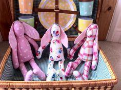 Tilda bunnies that I made.