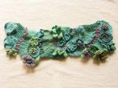 amazing freeform crochet motifs from Mitsuko.