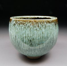 Ash Tenmoku and Nuka Matcha CHAWAN Teabowl TEA CEREMONY Upsized for those that don't drink tea but appreciate the aesthetics of the form.