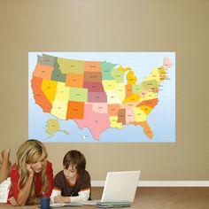 dry erase map