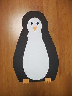 easy paper crafts | Preschool Crafts for Kids*: Penguin Paper Craft