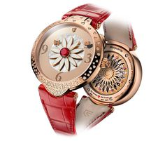 Just seven watches are in the running for the category focusing on mechanical wizardry in women's watches. I See Red, Wood Watch, Grand Prix, Michael Kors Watch, Bracelet Watch, Watches, Style, Women, Passion