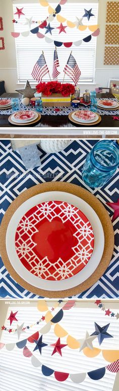 4th of July Party by Lindi Haws of Love The Day