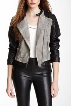 Moto jackets make any outfit better.