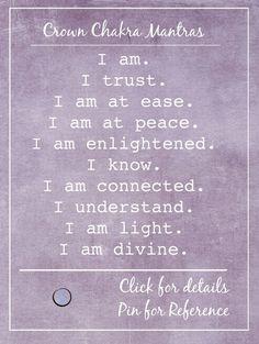 crown chakra mantras