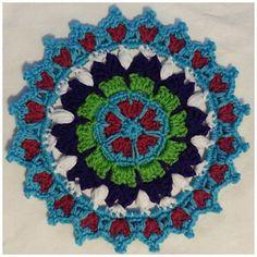 Queen of Hearts Mandala $1.00