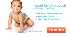 Great diaper service! 100% natural and non-toxic products!