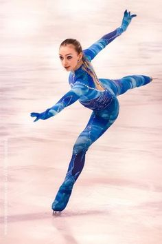 Anaïs Ventard, prodige du #patinage artistique.