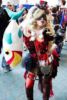 Cute steampunk Harley Quinn at San Diego Comic Con 2013 | Flickr