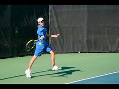 Tennis Tips: How To Hit Your Forehand With Power AND Accuracy! - YouTube