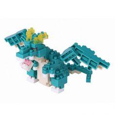 Dragon Bleu •  Si vous souhaitez faire garder votre trésor, le nano-dragon est fait pour vous.