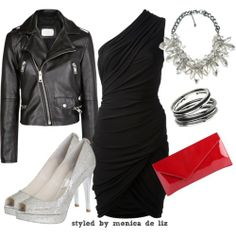 Dressing for the Holidays: Edgy