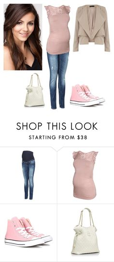 """Tori Vega"" by charmedgreys ❤ liked on Polyvore featuring H&M, Converse, Tory Burch and Dorothy Perkins"