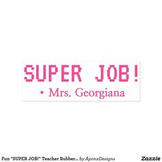 """"""" Teacher Rubber Stamp created by AponxDesigns. Inspirational Message, Encouragement, Motivational, Stamps, Positivity, Teacher, Student, Messages, Education"""