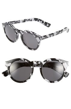 Adding these white camo, retro-inspired sunglasses to the NSale shopping cart for some striking edge to the fall wardrobe.