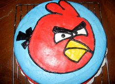 Angry Birds- cake