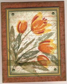 Autumn Tulips by ponygirl40 - Cards and Paper Crafts at Splitcoaststampers