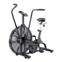 ASSAULT AIRBIKE Finally, a heavy-duty exercise bike designed directly from the feedback of athletes and coaches. The Assault AirBike reinvents and retools nearly every component of the traditional fan