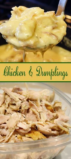 Quick and easy chicken and dumplings recipe easy food and dinners chicken and dumplings more forumfinder Gallery