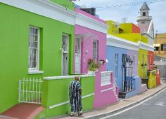 The 10 most colorful places: Bokaap, Cape Town, South Africa