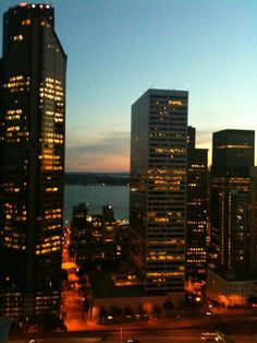 Another glorious sunset from downtown Seattle