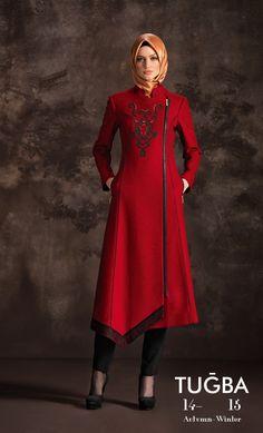 Turkish style, baby :D #ilovered #islamicfashion
